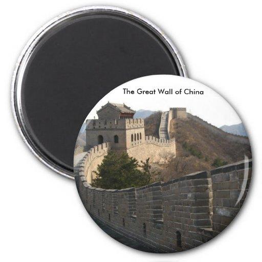 O Grande Muralha de China Ima De Geladeira