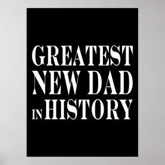 O grande novo papai dos melhores novos papais na h posters