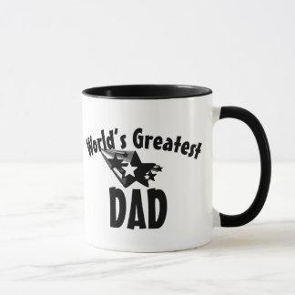 O grande pai do mundo stars a caneca de café dos