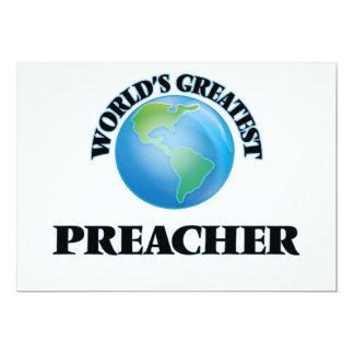 O grande pregador do mundo convites personalizado