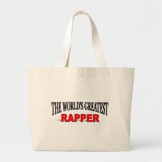 O grande rapper do mundo bolsa