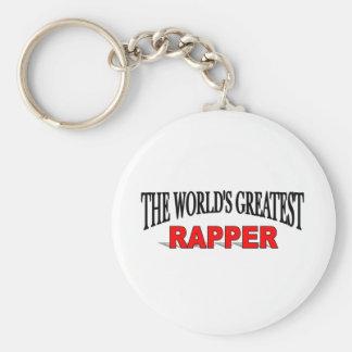 O grande rapper do mundo chaveiros