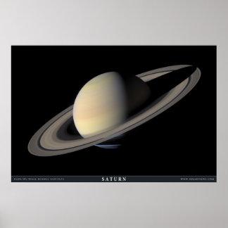 O grande retrato de Saturn Pôster