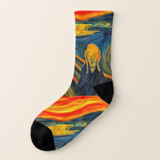 O gritar - Edvard Munch - meias da arte