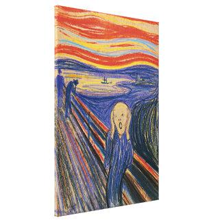O gritar Edvard Munch (pastel 1895) de alta qualid