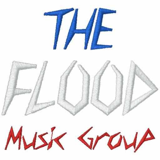 O grupo da música da inundação - personalizado camisa polo bordada