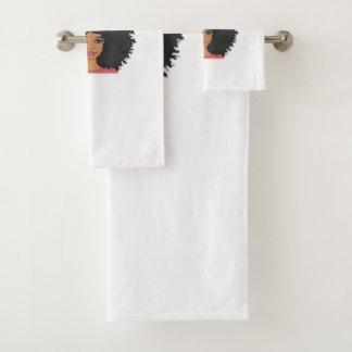 O grupo de toalha da coleção de Layla