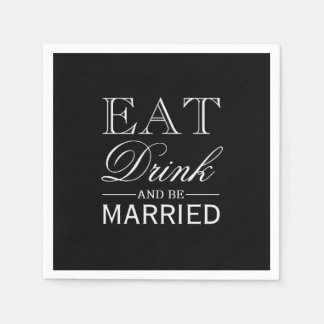 O guardanapo   come a bebida & seja