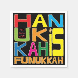 "O guardanapo de Hanukkah personaliza ""Hanukkah é"
