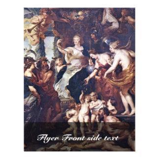 O Gückseligkeit a regência de Marie De Medici Modelos De Panfleto