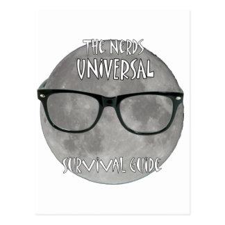 O guia de sobrevivência universal dos nerd cartão postal