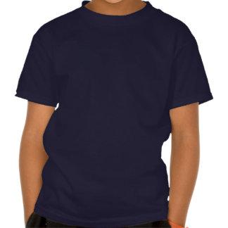 O guitarrista de esqueleto salta t-shirts