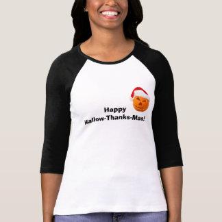 O Hallow-Obrigado-Mas feliz Tee Camiseta