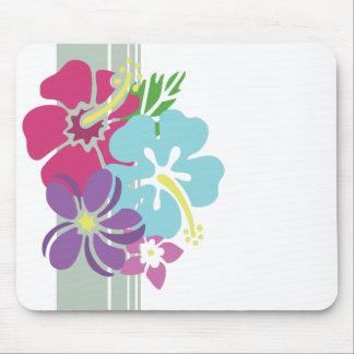 O Hawaiian floresce Mousepad