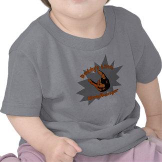 O Headbanger pequeno do pai Tshirt
