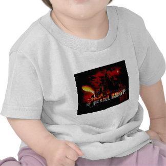 O Headbanger pequeno \ m Tshirt