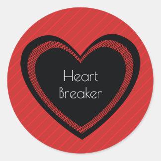 O Heartbreaker vermelho e enegrece a etiqueta de |