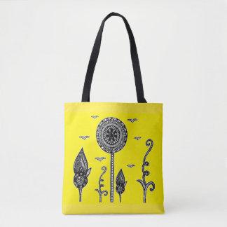 O Henna inspirou o bolsa mágico da floresta