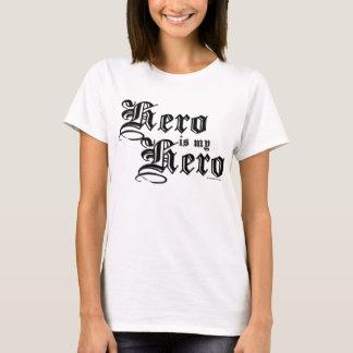 O herói é minha camisa justa da série do herói do