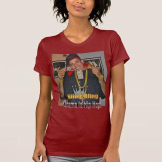 O hip-hop da mulher de Obama Camiseta