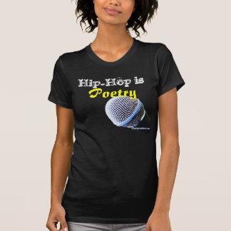 O hip-hop é T da poesia Tshirt