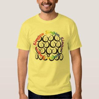 O hobby bom cantam é t-shirt
