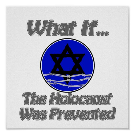 O holocausto foi impedido posters