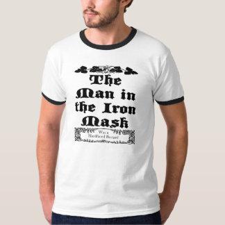 O homem na máscara do ferro camisetas