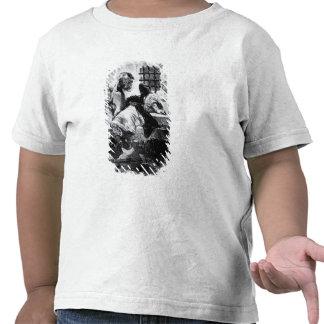 O homem na máscara do ferro em sua prisão t-shirt
