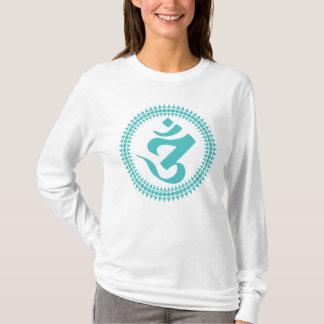 O Hoodie das mulheres de Siddham OM Camiseta