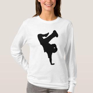 O Hoodie das mulheres do B-Menino Camiseta