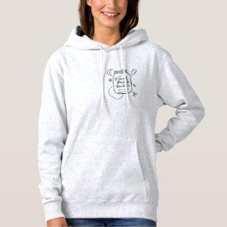O Hoodie das senhoras do pátio de entrada coberto Camiseta