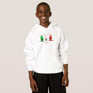 O Hoodie do miúdo italiano do Vespa do orgulho
