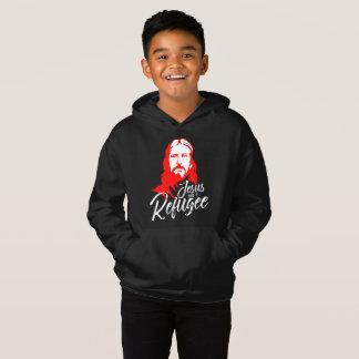 O Hoodie escuro do menino de Jesus