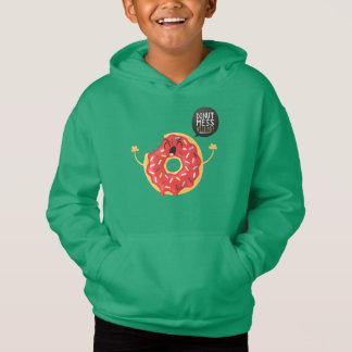 O Hoodie verde dos meninos polvilha a confusão da