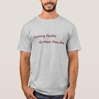 O hóquei de Ossining, vai duro. Tenha o Swag. Camiseta