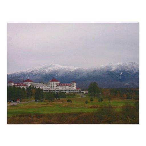 O hotel de Washington da montagem Convite