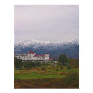 O hotel de Washington da montagem Panfleto