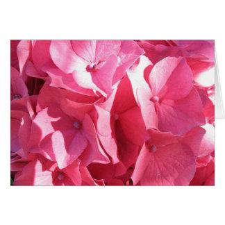 O Hydrangea 2 de Katie Cartão Comemorativo