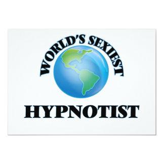 """O Hypnotist o mais """"sexy"""" do mundo Convite Personalizado"""