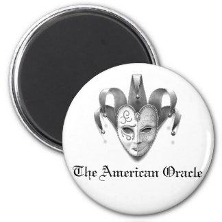 O ímã americano do logotipo de Oracle Ímã Redondo 5.08cm