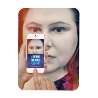 O ímã de Iphone da mostra de Lynn Vance