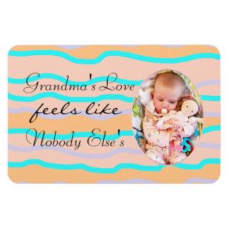 O ímã personalizado amor da avó