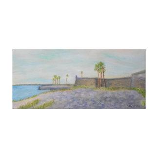O impressão das canvas de CASTILLO DE SAN MARCOS Impressão De Canvas Esticadas
