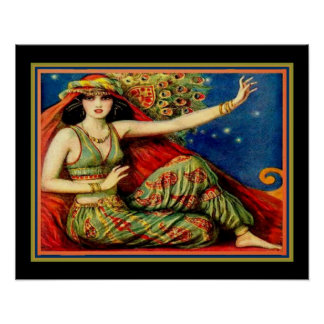 O impressão do art deco do santuário (1926) 16 x