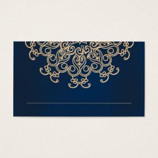 O indiano do marinho e do ouro inspirou o cartão
