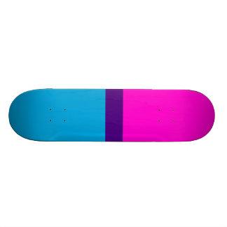 O índigo azul aumentou shape de skate 18,7cm