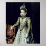 O Infanta Isabel Clara Eugenie 1579 Poster