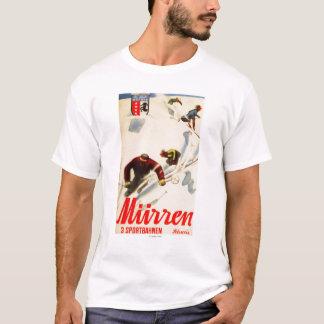 O inferno compete o poster relativo à promoção camiseta