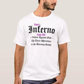 O inferno de Dante, camisa do Canto XVI